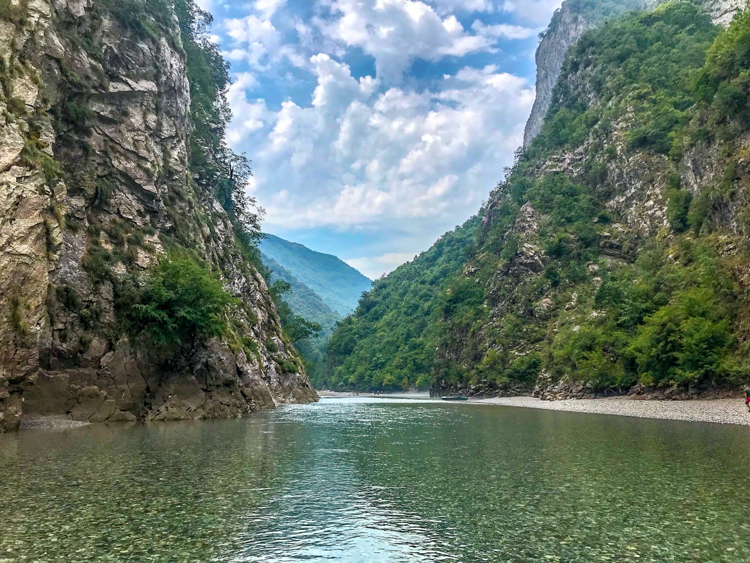 Shala River Albanie